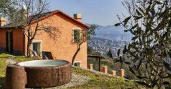 Villetta, vista mare & giardino